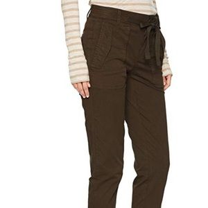 Vince Pants - Vince Dark Laurel Green Stretch Utility Pants 4